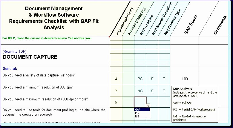 Software Gap Analysis Template New Fit Gap Analysis Template Excel Kfzgl Elegant Sample Gap