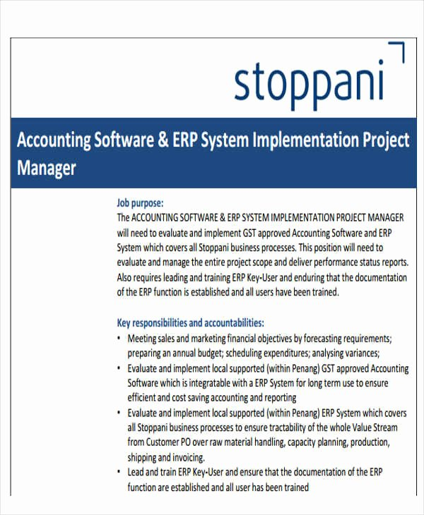 Software Implementation Plan Template Best Of 34 Implementation Plan Templates In Pdf