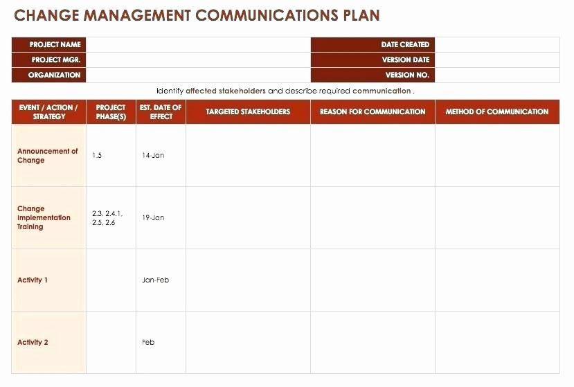 Software Implementation Project Plan Template Best Of Project Implementation Plan Template Powerpoint Planning