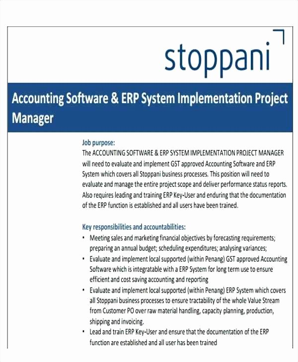 Software Implementation Project Plan Template Unique Project Implementation Plan Template Excel X Sap In Erp
