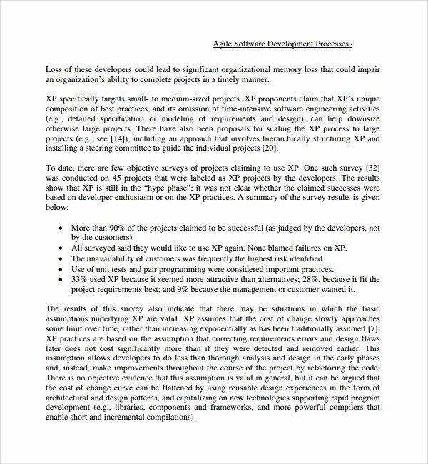 Software Project Proposal Template Beautiful 13 software Development Proposal Templates to Download