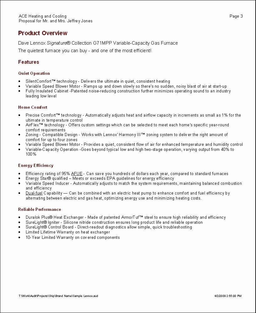 Software Project Proposal Template Elegant Elite software Proposal Maker