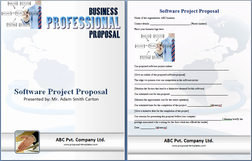 Software Project Proposal Template Fresh 20 Free Project Proposal Template Ms Word Pdf Docx