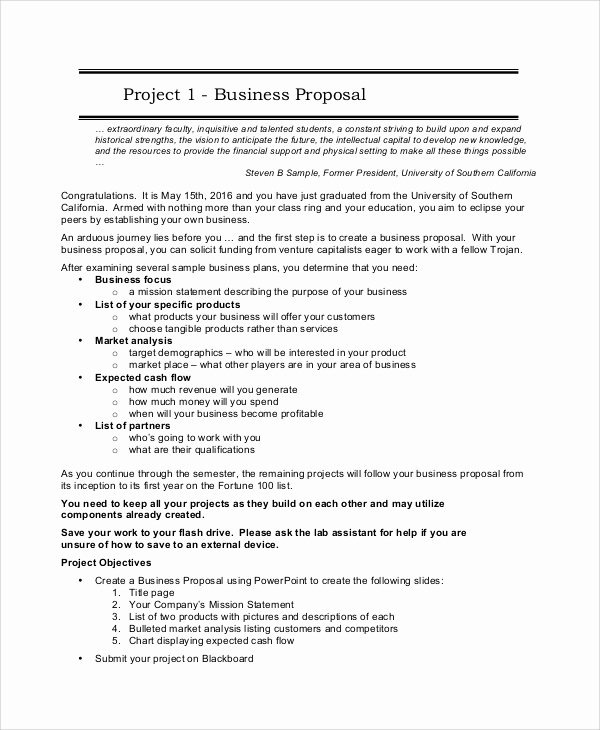 Software Project Proposal Template Inspirational 14 Sample Project Proposals
