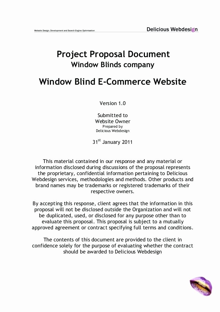 Software Project Proposal Template Inspirational Template software Development Project Proposal Template