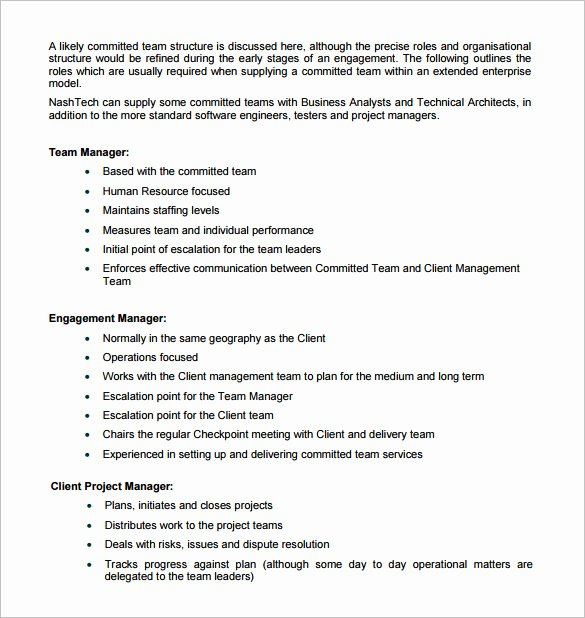 Software Project Proposal Template Lovely Proposal Templates – 140 Free Word Pdf format Download