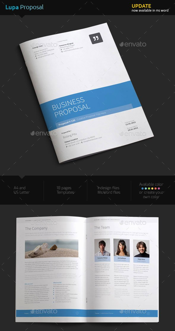 Software Proposal Template Word Beautiful How to Customize A Simple Business Proposal Template In Ms