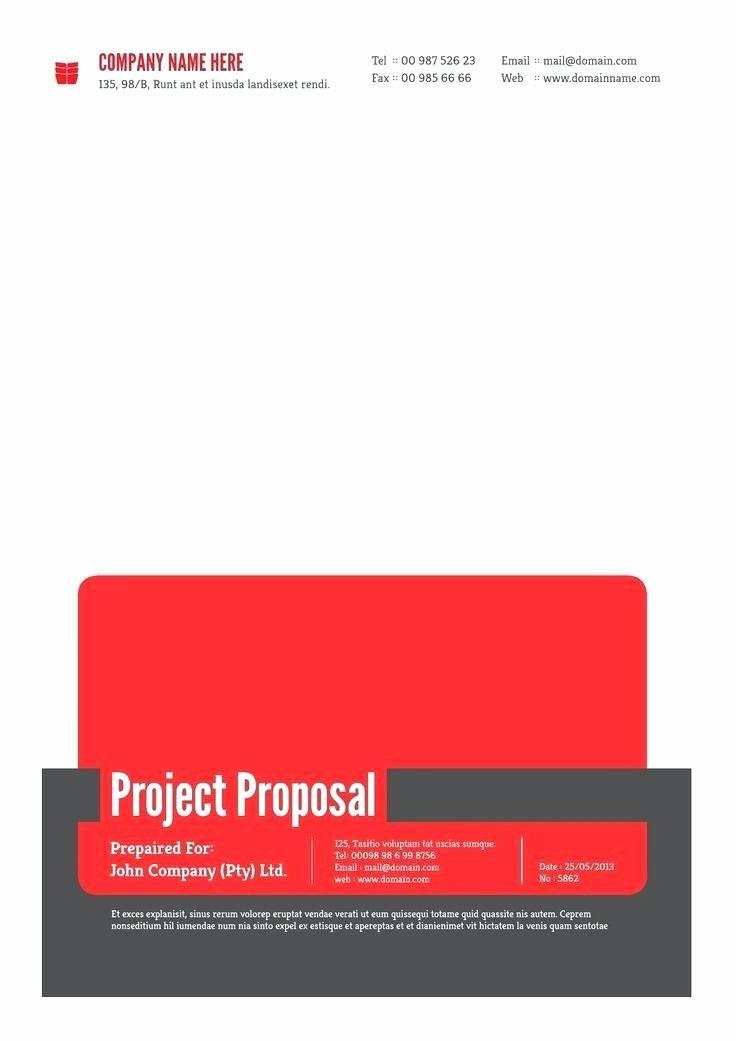 Software Proposal Template Word Lovely software Project Proposal Template Word Business Simple