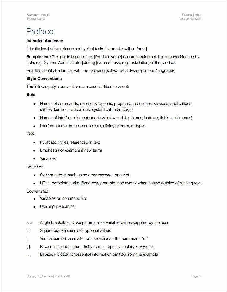 Software Release Notes Template Unique Release Notes Template Apple Iwork Pages Numbers