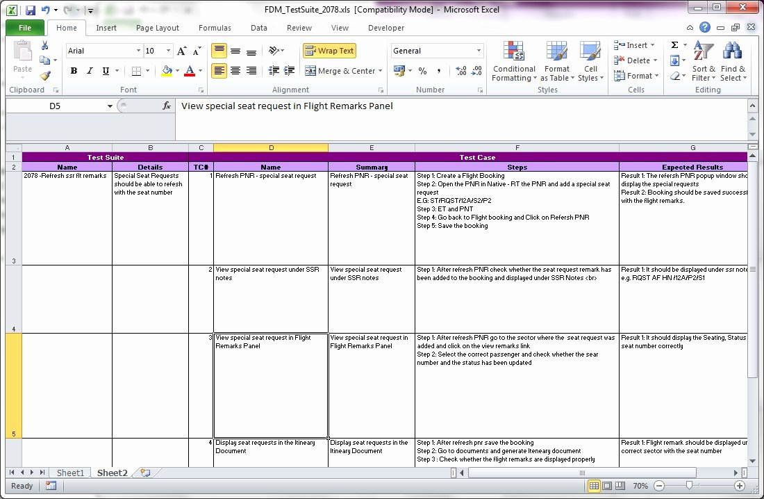 Software Test Case Template Lovely Simple software Test Plan Template