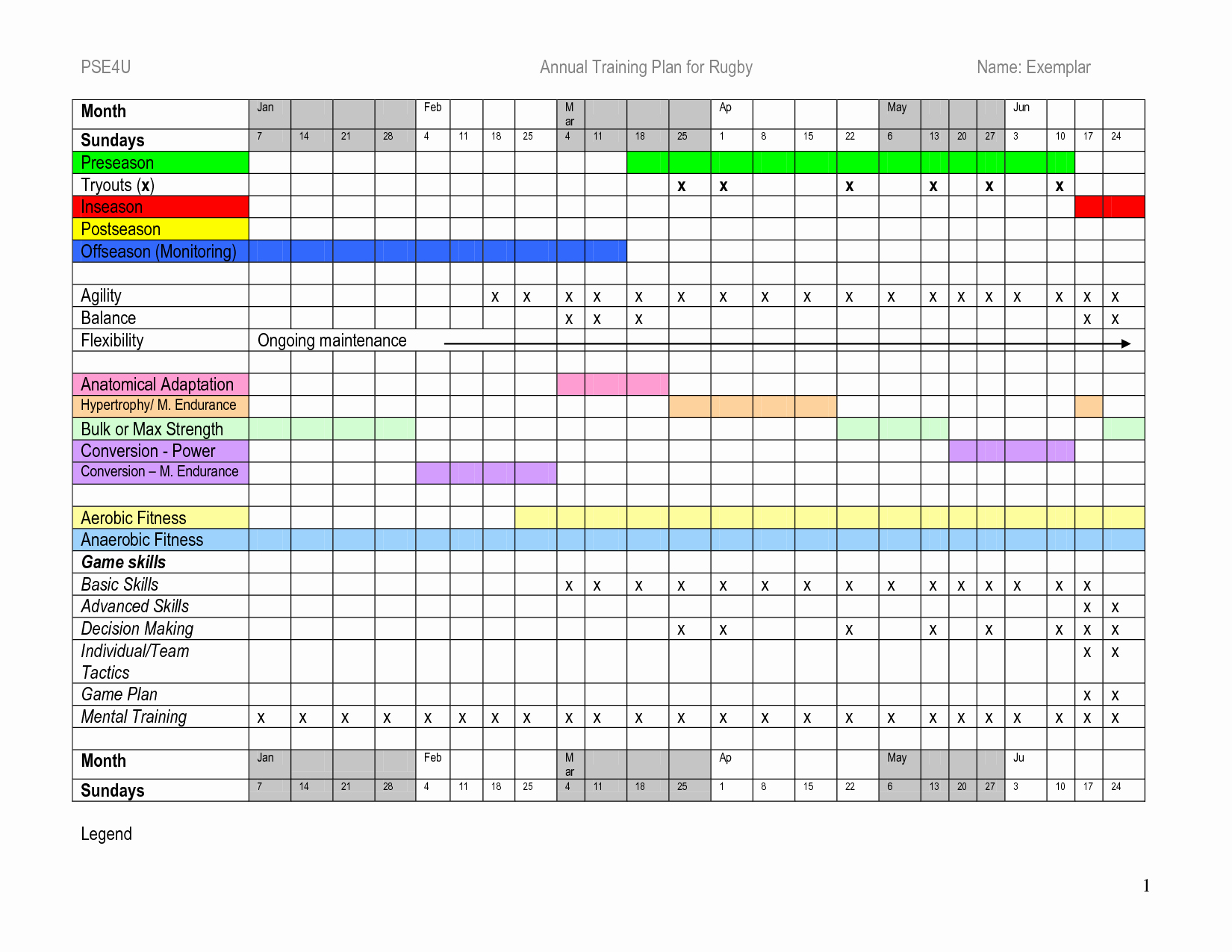 Software Training Plan Template Awesome Training Schedule Template Excel