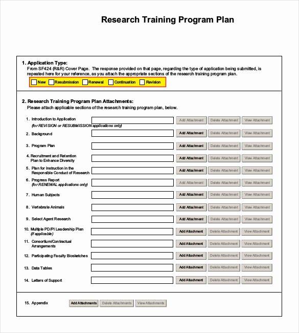 Software Training Plan Template Best Of 25 Training Plan Templates Doc Pdf
