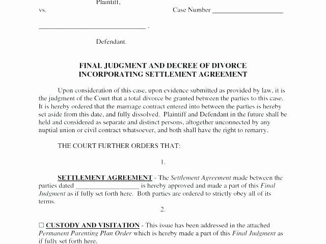 Sole Custody Agreement Template Best Of Full Custody Agreement Template Child Parenting Custody