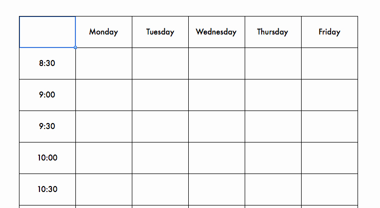 Speech therapy Schedule Template Best Of therapy Schedule Template Speechtivities