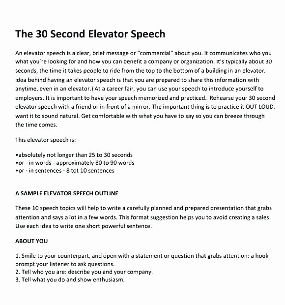 Speech therapy Schedule Template Fresh Outline Template Example Presentation Templates A Speech