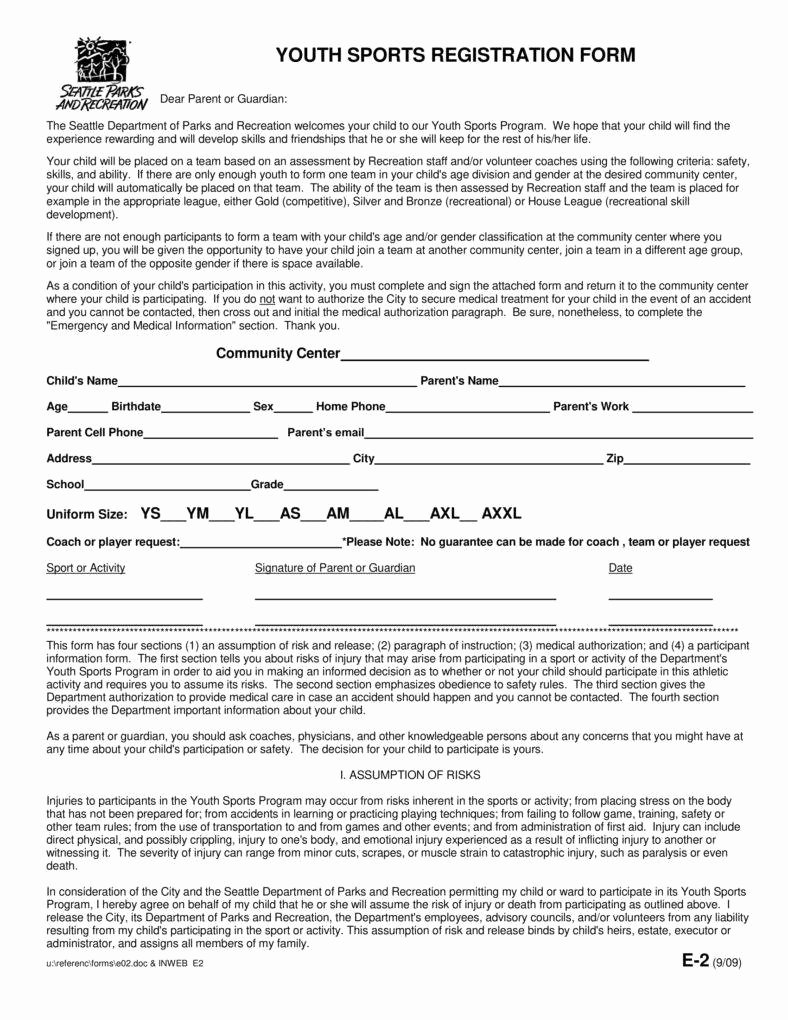 Sports Registration form Template Awesome 6 Sport Sign Up Sheet Templates Pdf