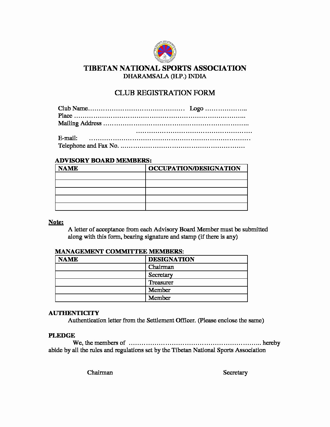 Sports Registration form Template Lovely Registration form Design Templates