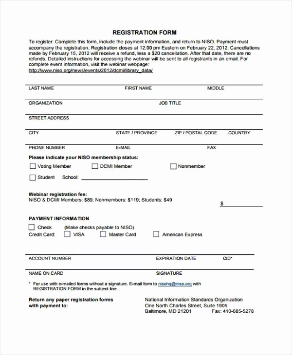 Sports Registration form Template Lovely Sports Registration form Template Free – Versatolelive