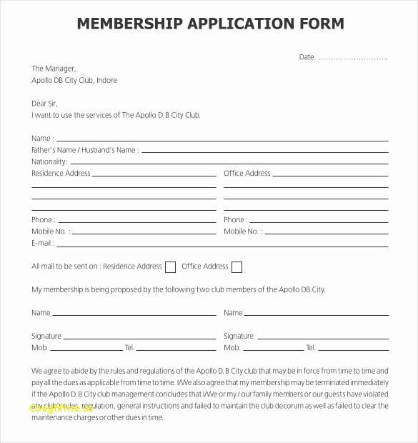 Sports Registration form Template Lovely Sports Registration form Template Registration form In