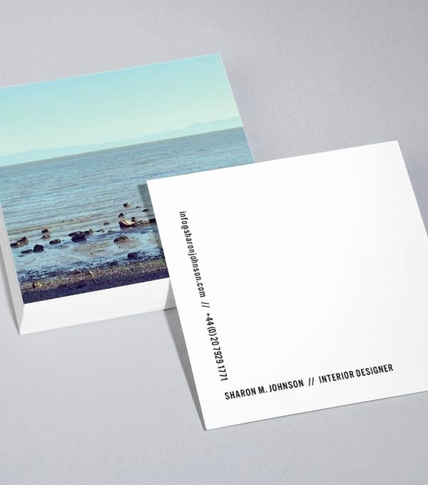 Square Business Card Template Awesome 25 Best Ideas About Square Business Cards On Pinterest