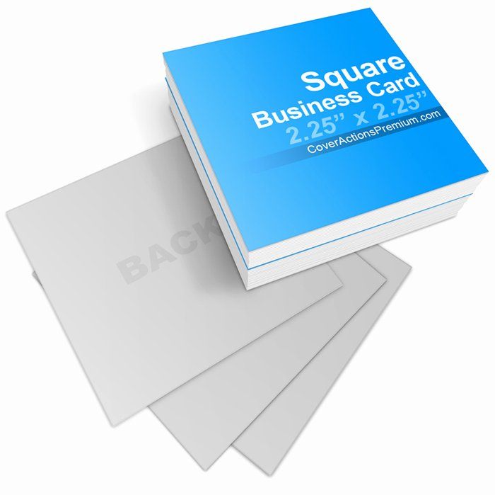 Square Business Card Template Best Of Square Business Card Mock Ups