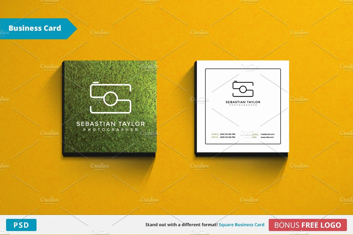 Square Business Card Template Elegant S Square Business Card Template Business Card