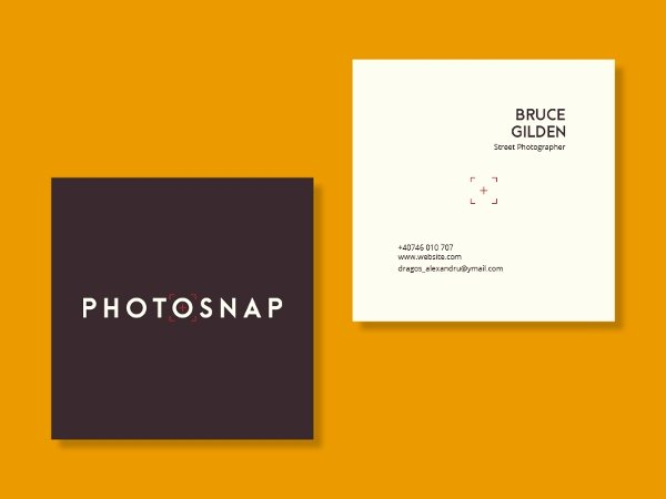 Square Business Card Template Free Awesome 22 Square Business Cards Free Psd Eps Illustrator