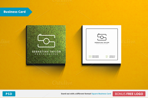 Square Business Card Template Free Awesome S Square Business Card Template Business Card
