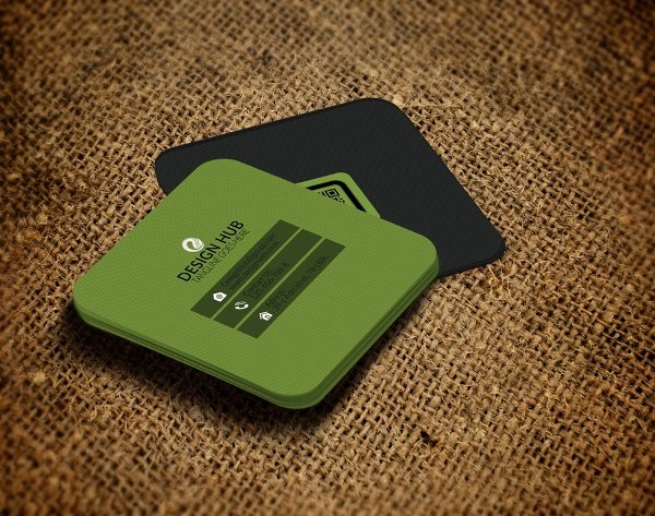Square Business Card Template Free Elegant 22 Square Business Cards Free Psd Eps Illustrator