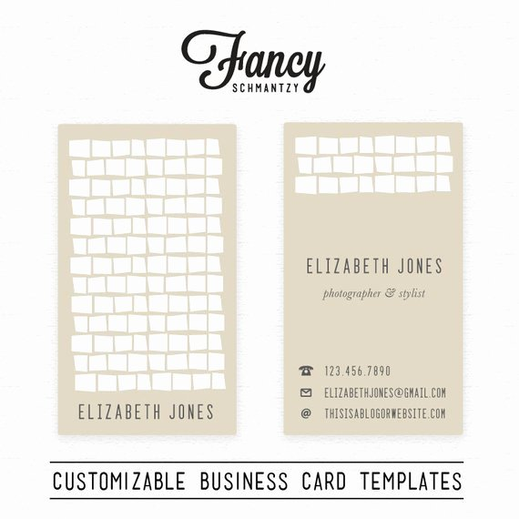 Square Business Card Template Free Unique Retro Square Business Card Template