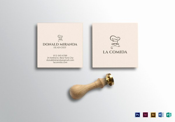 Square Business Card Template Luxury 51 Cool Business Card Templates Word Pages Ai Psd