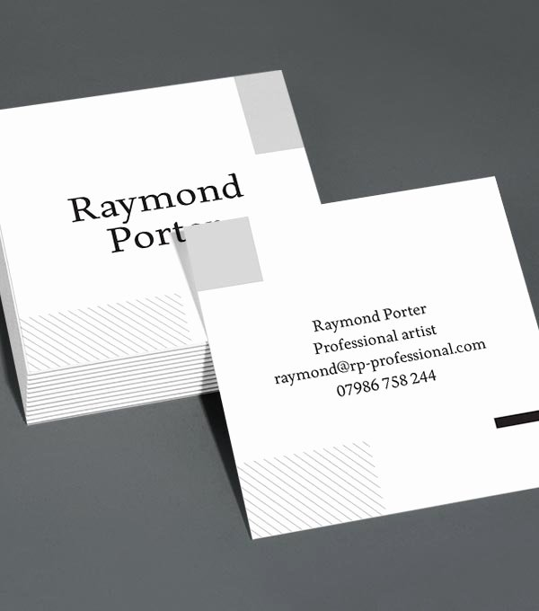 Square Business Card Template New Browse Square Business Card Design Templates