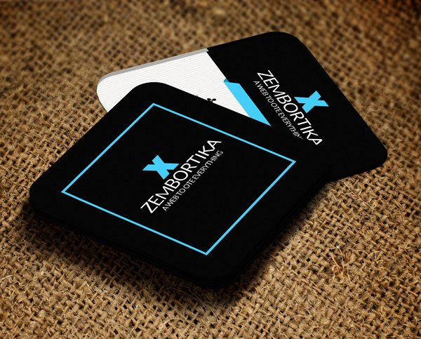 Square Business Card Template Unique Mini Square Business Card Psd Templates Design