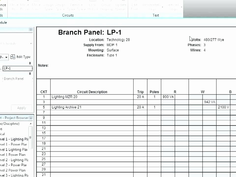 Square D Panel Schedule Template Awesome Panel Schedule Template Excel – Buildingcontractor