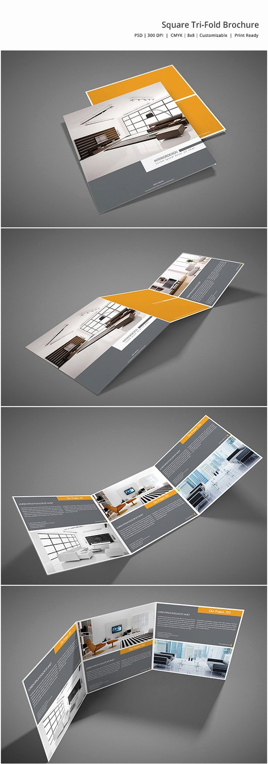 Square Trifold Brochure Template Awesome Square Tri Fold Brochure by Shapshapy On Deviantart