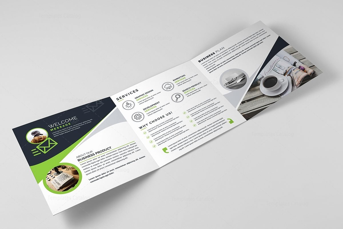 Square Trifold Brochure Template Awesome Square Tri Fold Business Brochure Template Template Catalog