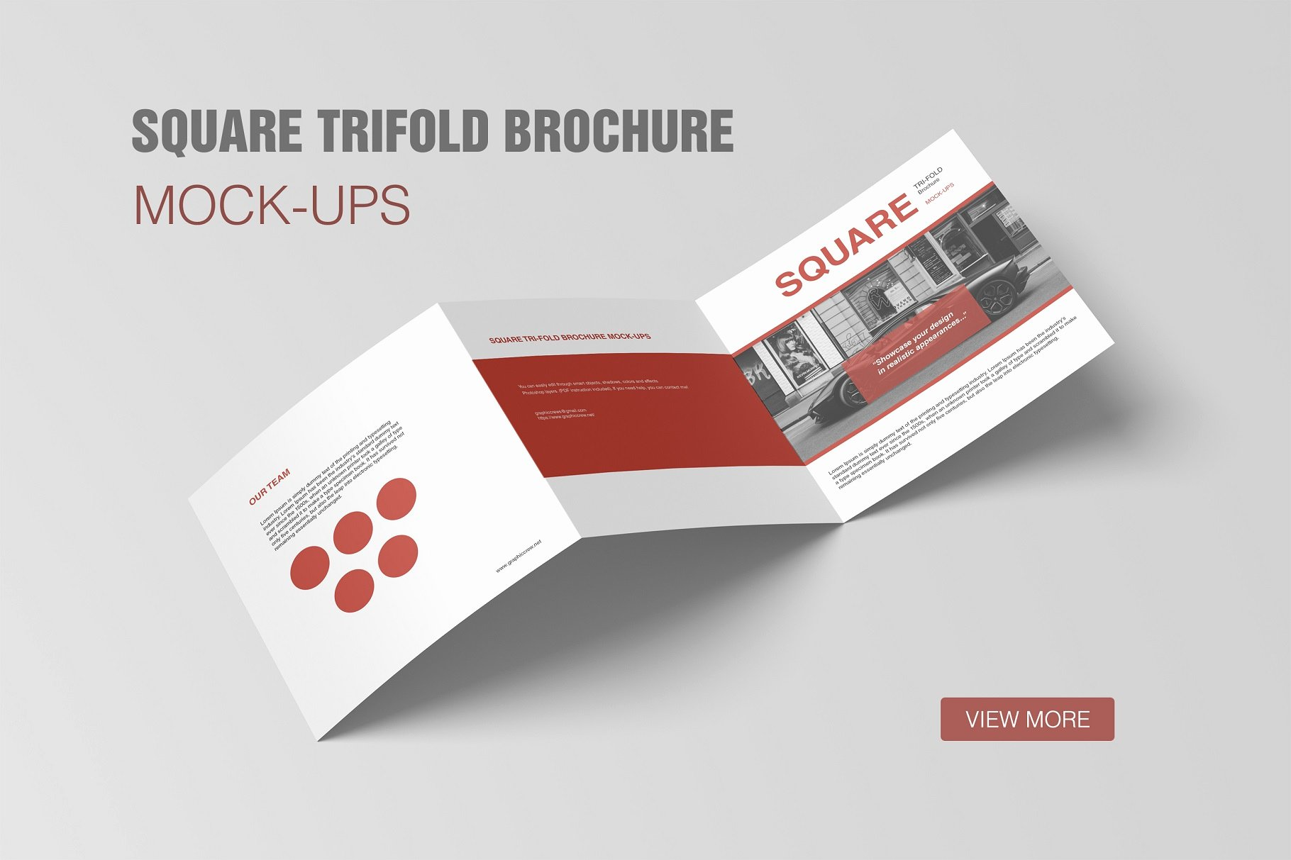 Square Trifold Brochure Template Best Of Square Trifold Brochure Mockup