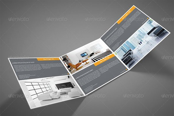 Square Trifold Brochure Template Elegant 100 Free Editable Bifold Brochure Design Templates New