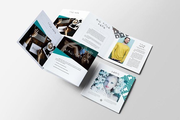 Square Trifold Brochure Template Elegant Lemo Square Trifold Brochure Brochure Templates