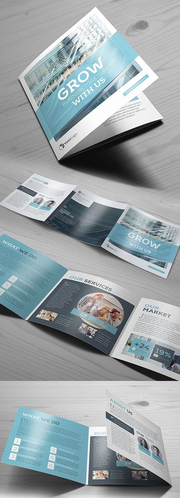 Square Trifold Brochure Template Fresh Best 25 Brochure Design Ideas On Pinterest