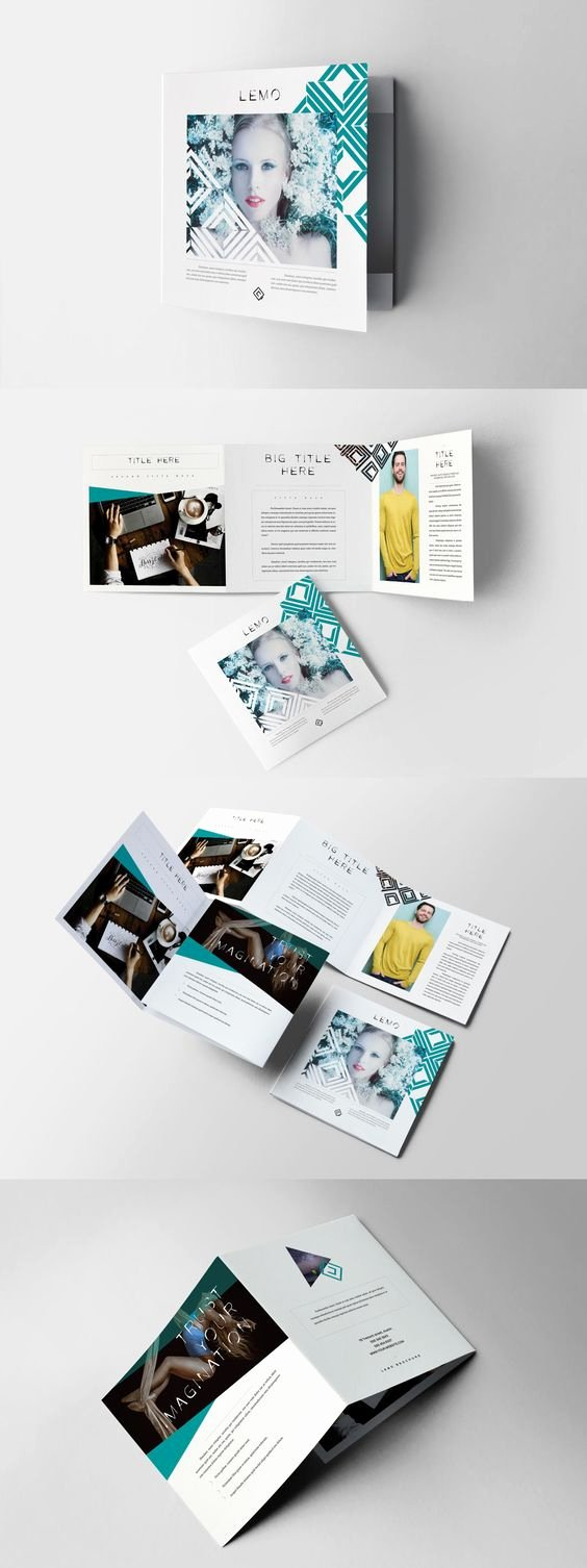 Square Trifold Brochure Template Fresh Square Trifold Brochure Template Indesign Indd