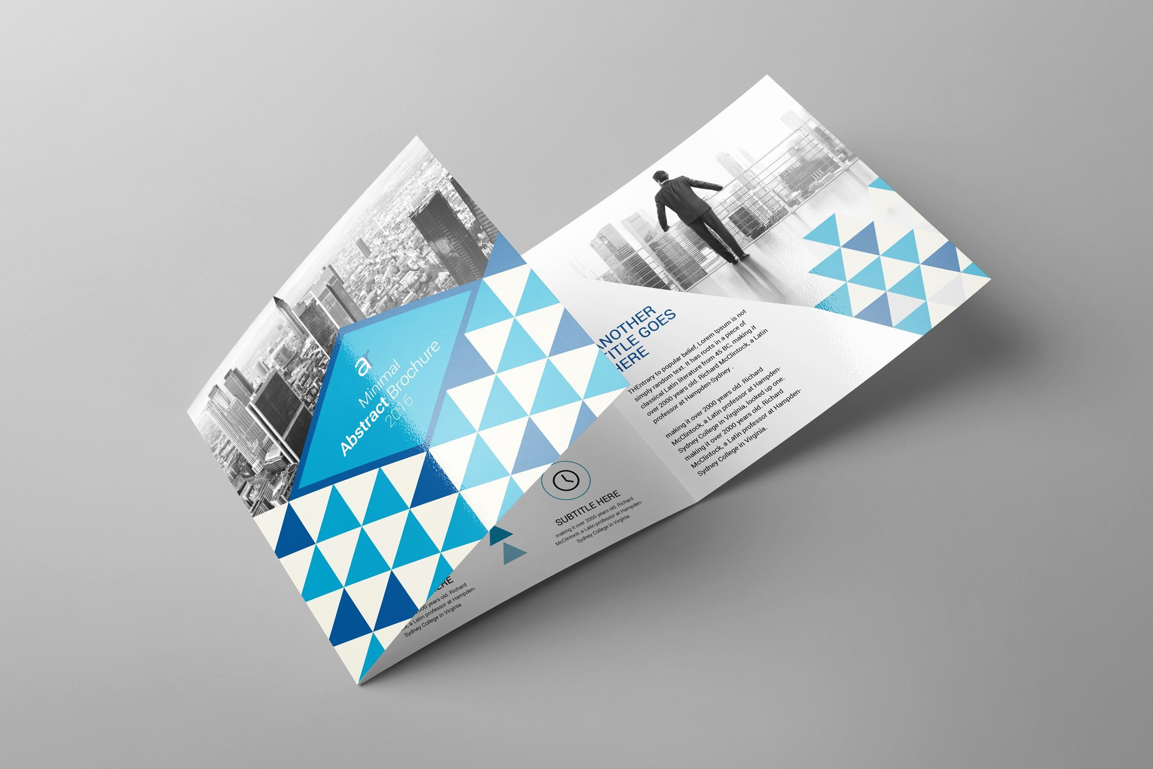 Square Trifold Brochure Template Fresh Tri Fold Square Brochure Brochure Templates Creative