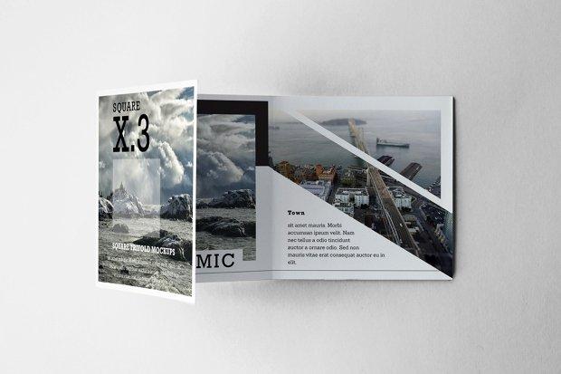 Square Trifold Brochure Template Inspirational 20 Square Brochure Mockups Free Editable Psd Ai