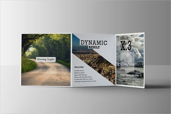 Square Trifold Brochure Template Inspirational 24 Square Brochure Free Psd Eps Ai format Download