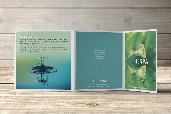 Square Trifold Brochure Template Inspirational 26 Massage Brochure Templates Psd Ai Docs Pages