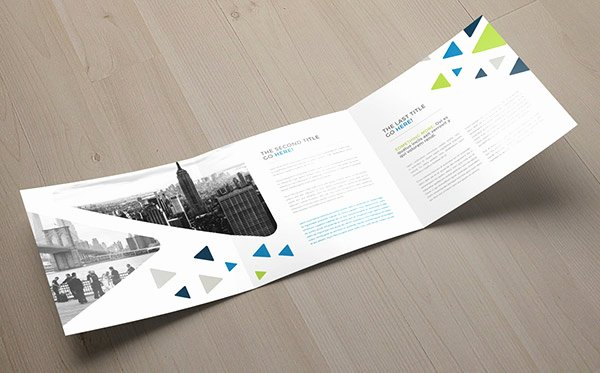 Square Trifold Brochure Template Luxury 30 Really Beautiful Brochure Designs & Templates for