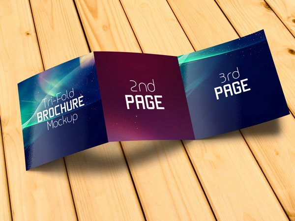 Square Trifold Brochure Template New Free Square Tri Fold Brochure Mockup Psd Files – Designbolts