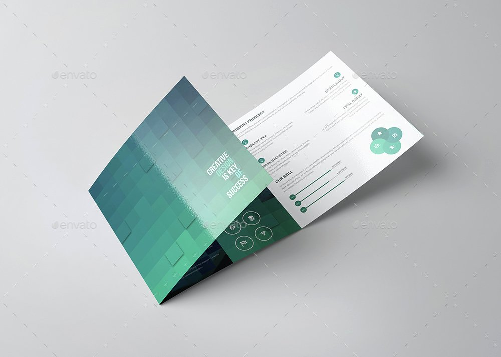 Square Trifold Brochure Template New Sencrise Square Tri Fold Brochure Template by Evny