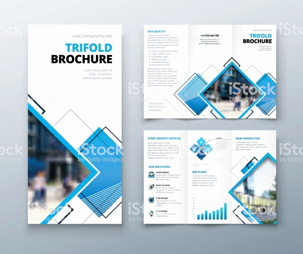 Square Trifold Brochure Template New Tri Fold Brochure Design Corporate Business Template for
