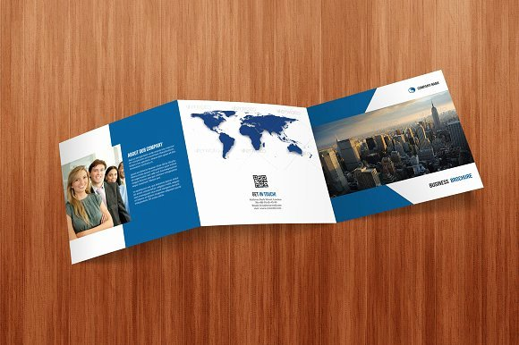 Square Trifold Brochure Template Unique Square Tri Fold Business Brochure Brochure Templates On